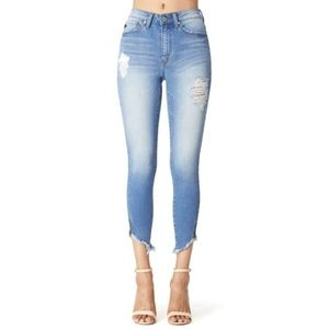 Denim - Summer Destroyed Skinny Jeans